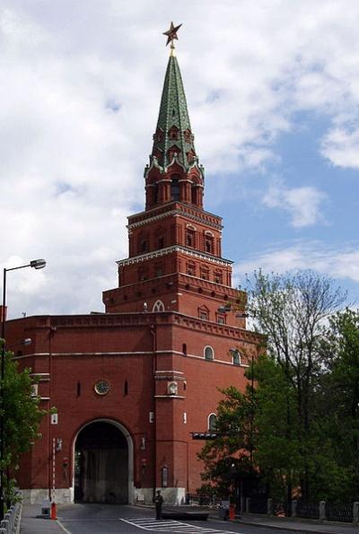 Mosca Torre Borovickaja