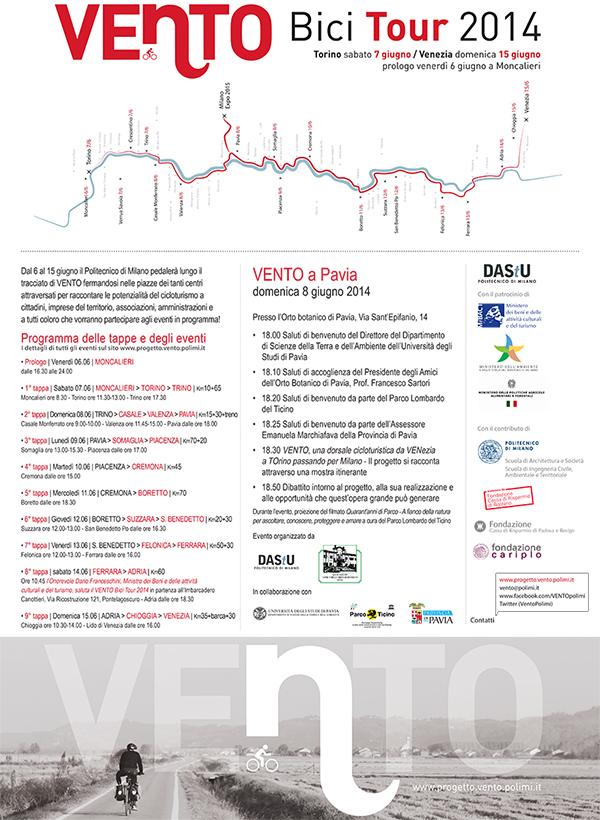 Ciclabile Venezia Torino (passando a Milano)