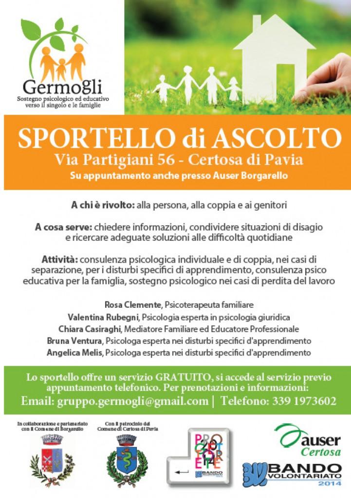 Sportello d'ascolto Gruppo Germogli
