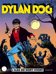 """Il primo albo di Dylan Dog Copertina de """"L'alba dei morti viventi"""" Ottobre 1986"""
